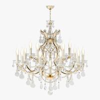 beby chandelier 940 3d model