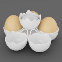3dsmax egg holder tealight
