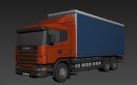 scania r-series 3d model