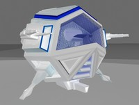 fighter su 3 3d model