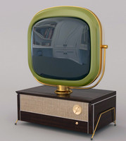 3d retro tv philco predicta