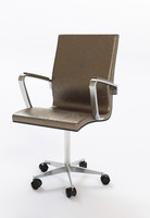 office rolling armchair 4 3d max