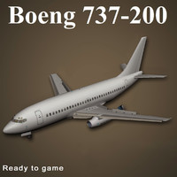 3ds max boeing 737-200
