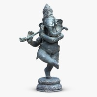 dancing ganesha 3d model