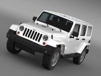 3d jeep wrangler unlimited sahara