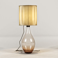 3ds ochre - cherub lamp light