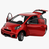 Scion iQ 2014 Rigged