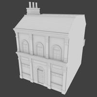 building store 3d model