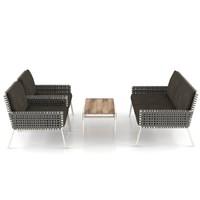 3d model garden sofa set