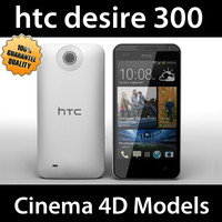3d model of htc desire 300