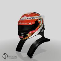 formula kimi raikkonens 2014 3d model