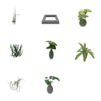 3d model garden