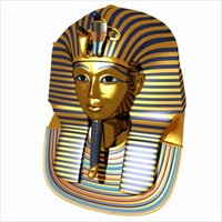 3d egypt bust