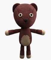 realistic teddy bear max