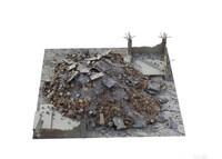 rubble junk pile 3d max