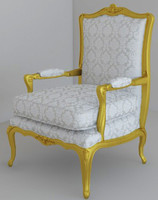 classical armchair 3ds