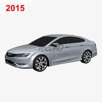 2015 200 3d model