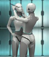 maya robot angelina