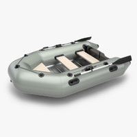 3ds max inflatable boat