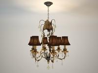 3dsmax empyrean chandelier savoy