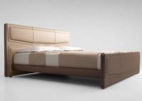 3d model giorgetti bed pochette