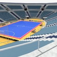 3ds max futsal chairs