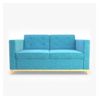 3d sofa realistic model