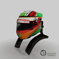 Sergio Perez 2014 Helmet