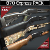 pack remington 870 express max