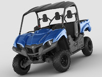 yamaha viking vehicle 3d c4d