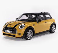 3d model of mini cooper s