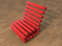 chair c4d free