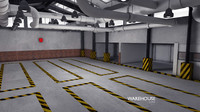 warehouse house 3d model