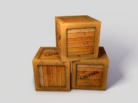dangerous goods boxes c4d