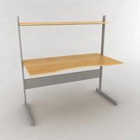 3d ikea jerker desk