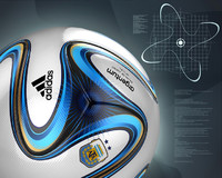 3d model of soccer ball football
