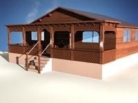 3d model majles sitting room woods