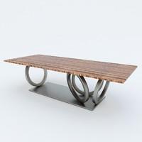 3d model casa table