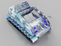 vehicle tank 3d max