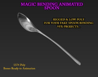 3d spoon vfx projects