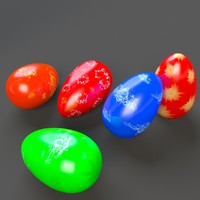 3ds max printable easter eggs