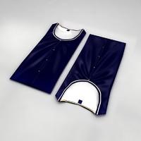 folded shirt 3d model
