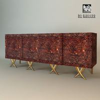 christopher guy sideboard 3d obj