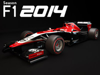 max marussia mr03 2014