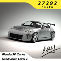 3ds max nissan 350z sport racing