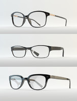 3d eyewear eyeglasses glass model