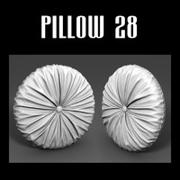 3d model pillow interior