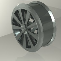 maya metal car rim araba