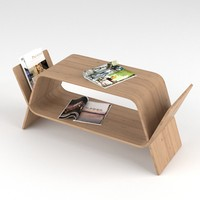 3d model sideboard magazines