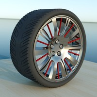 wheel sports ports 3d fbx